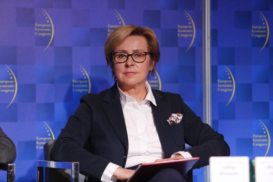 Jadwiga Wiśniewska, poseł do Parlamentu Europejskiego. Fot. PTWP