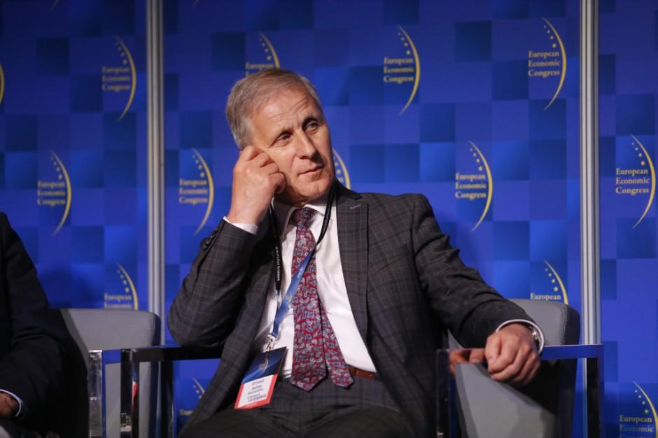 Ernest Jelito, prezes zarządu Górażdże Cement. Fot. PTWP