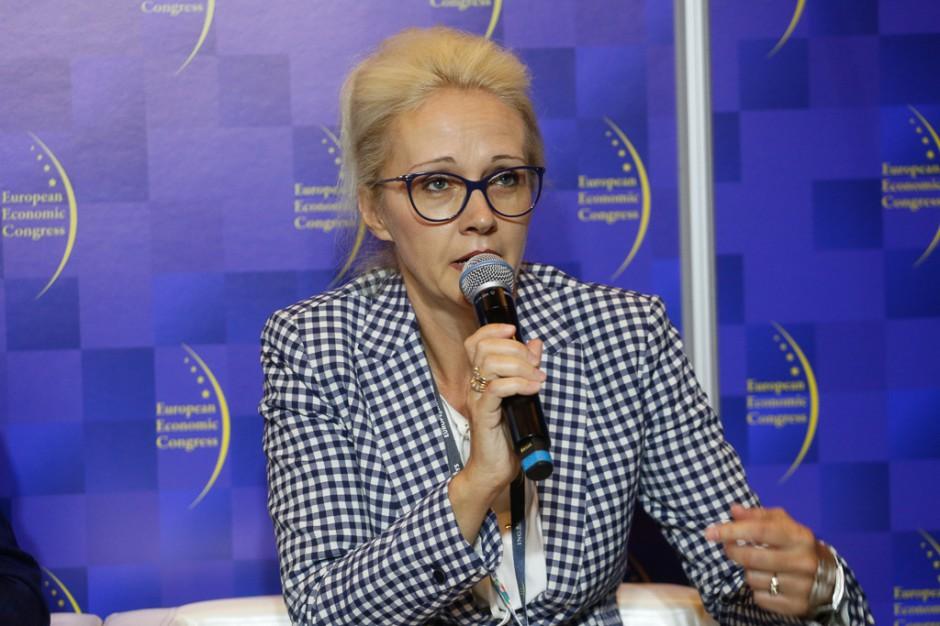 Iwona Szmitkowska, wiceprezes zarządu Work Service. Fot. PTWP