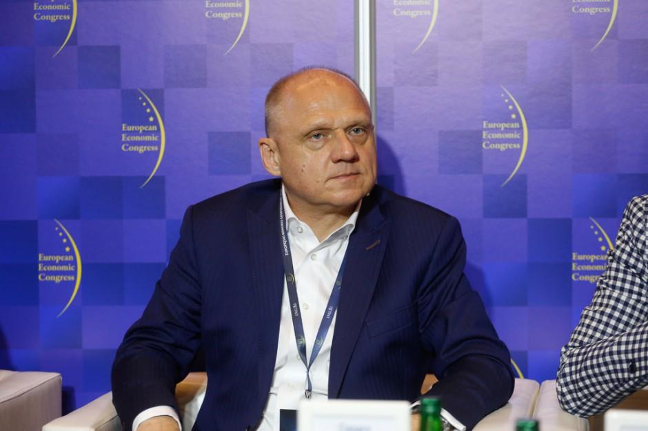 Cezary Mączka, członek zarządu i dyrektor pionu zarządzana zasobami ludzkimi w Budimeksie. Fot. PTWP