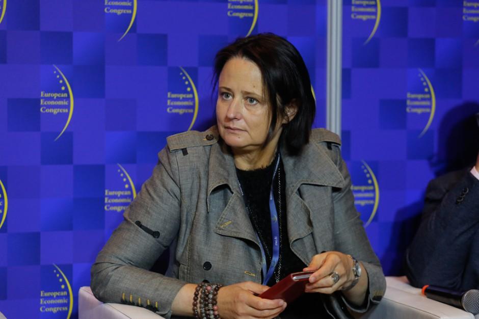 Prof. Katarzyna Śledziewska, dyrektor zarządzający w DELab UW. Fot. PTWP