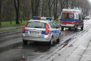 Wypadek dwóch autokarów z dziećmi na DK 74. 23 rannych, droga już przejezdna