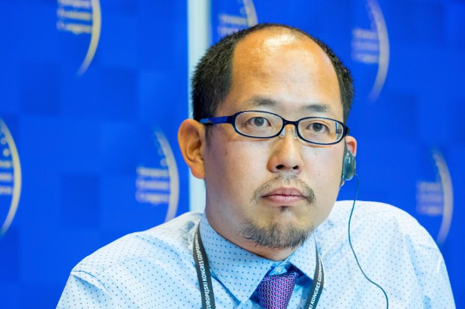 Naofumi Makino, dyrektor generalny firmy Jetro Warszawa. Fot. PTWP