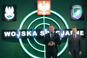 Andrzej Duda zatroszczył się o uzbrojenie Wojsk Specjalnych