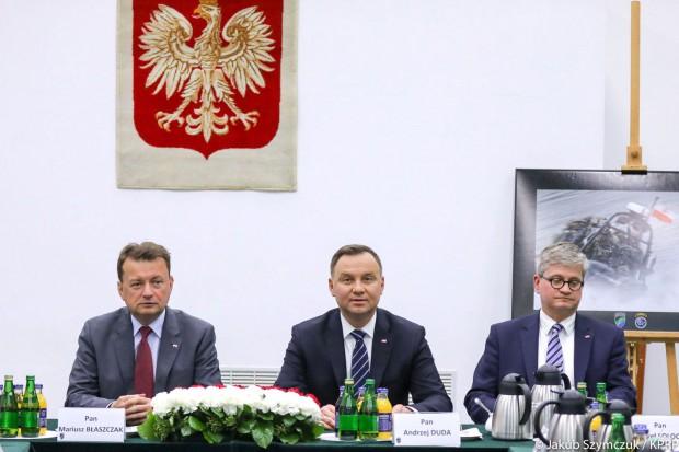 Andrzej Duda: nowy System Kierowania i Dowodzenia w znacznej mierze gotowy