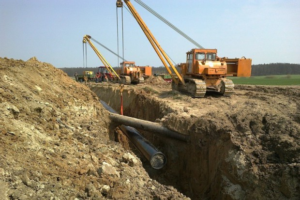 Rozpoczęła się budowa gazociągu do EC Żerań