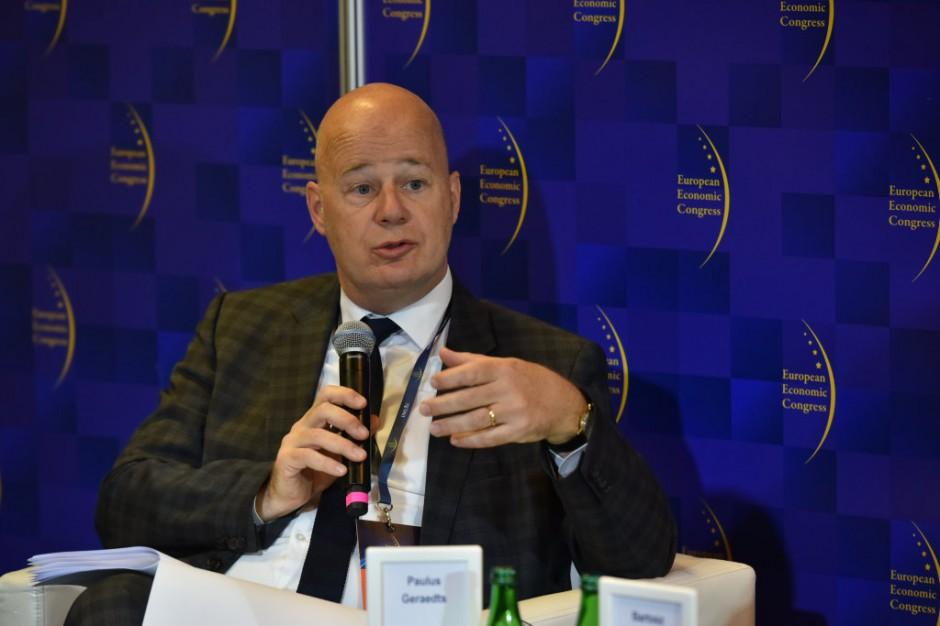 Paulus Geraedts, kierownik zespołu w Sekretariacie Planu Inwestycji Zewnętrznych Komisji Europejskiej. Fot. PTWP