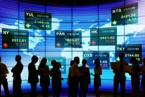 Europejskie giełdy idą w górę, po pozytywnych ruchach w USA i Azji