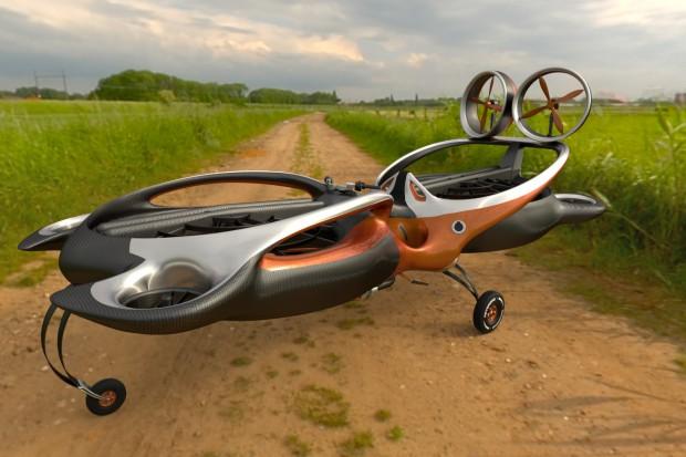 Hoverbike Raptor. Technologie niczym z gwiezdnych wojen już w Polsce