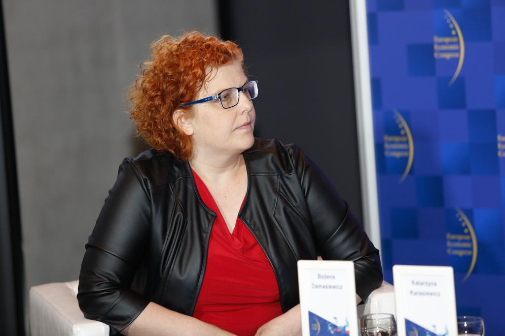 Bożena Damasiewicz, prezes Fundacji Pomyśl o Przyszłości. Fot. Grupa PWP