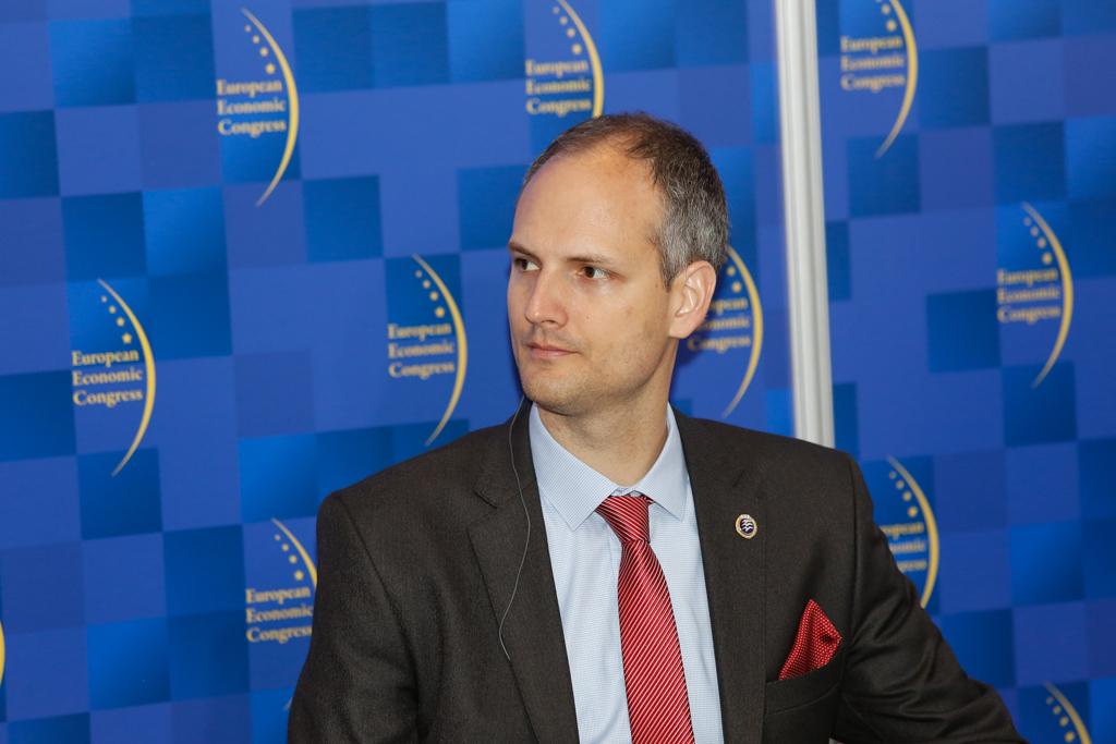 Márton Ugrósdy, dyrektor z węgierskiego Institute for Foreign Affairs and Trade. Fot. Grupa PTWP