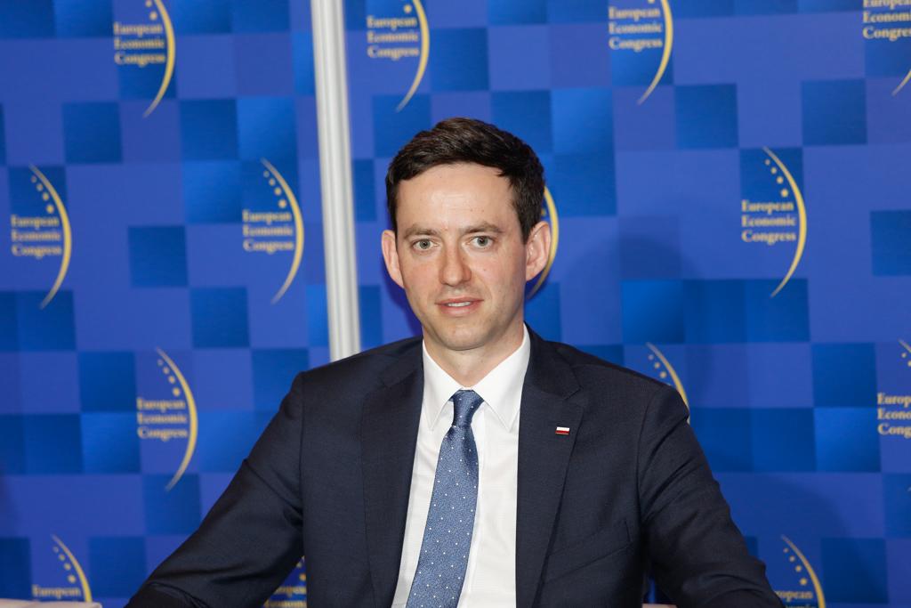 Marcin Ociepa, podsekretarz stanu w Ministerstwie Przedsiębiorczości i Technologii. Fot. Grupa PTWP