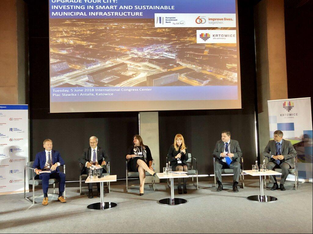 """Dyskusja nt. unijnego budżetu odbyła się w czasie konferencji """"Modernizuj miasto: Inwestycje w inteligentną i zrównoważoną infrastrukturę miejską"""