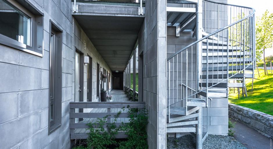 Polskie firmy już odnoszą sukcesy w budownictwie modułowym. Przykładem jest Unibep - na zdjęciu jego osiedle 'Utleir Hus 7' w norweskim Trondheim (fot. mat. prasowe)