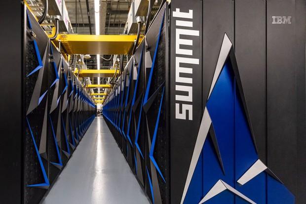 IBM i NVIDIA zbudowały Summit - najpotężniejszy komputer świata