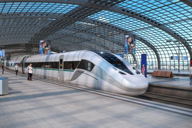 Siemens prezentuje nowy pociąg dużych prędkości Velaro Novo (fot.mat.pras.)