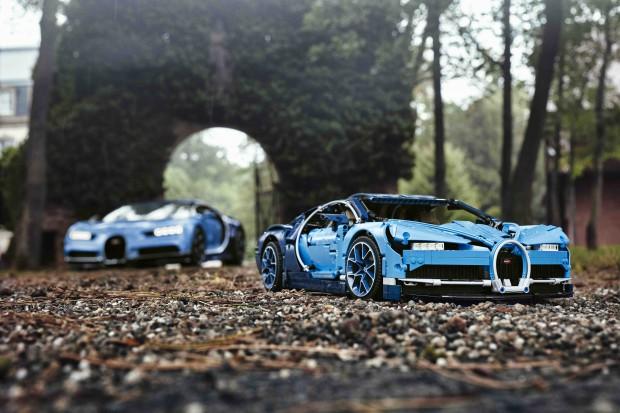 Lego wypuszcza kolejny samochodowy model: Bugatti Chiron