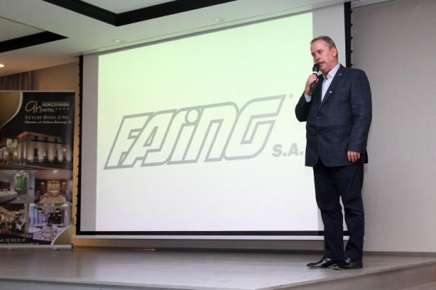 Zdzisław Bik, prezes Fasing, chce postawić Ruch Chorzów na nogi