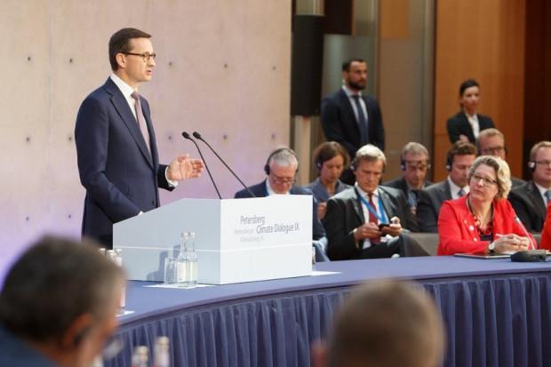 Morawiecki o polityce klimatycznej: naszym celem jest złoty środek