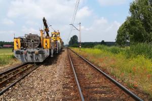Kolejarze modernizują linię między Bełchowem a Łowiczem
