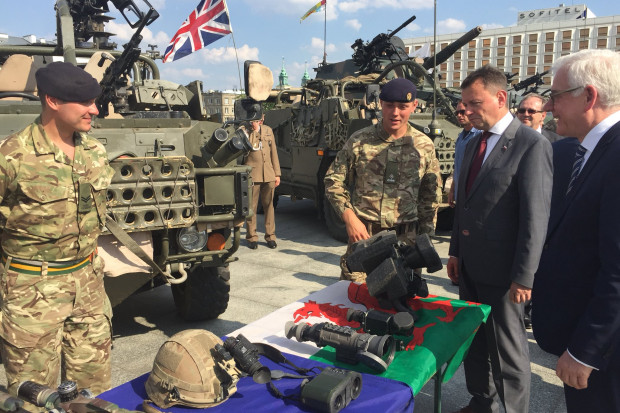 Szef MON: w obronności wiele nas łączy z Brytyjczykami