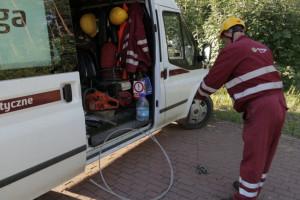 Nadal bez prądu na części Mazowsza jest 850 odbiorców