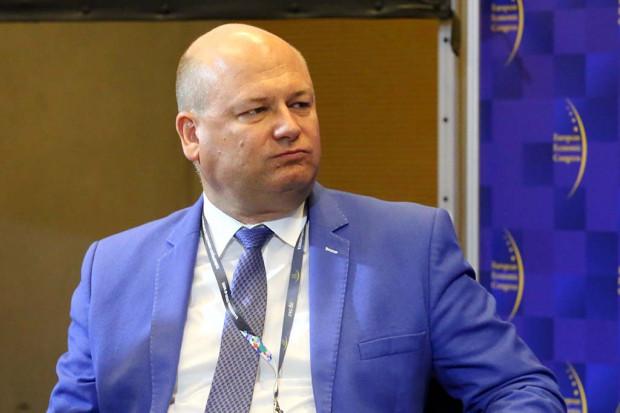 Witold Słowik, podsekretarz stanu w Ministerstwie Inwestycji i Rozwoju. Fot. PTWP