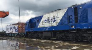 Polska spółka testuje nową trasę do Chin. Do pociągu doczepiono specjalny kontener