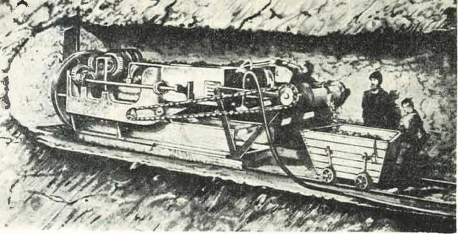 Zdjęcie numer 2 - galeria: Nie tylko w górnictwie, czyli historia kombajnów chodnikowych