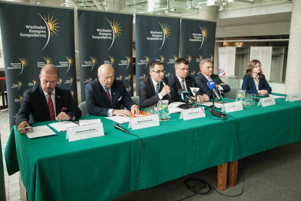 Konferencja prasowa zapowiadająca Wschodni Kongres Gospodarczy 2018