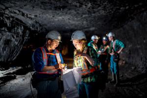 Laserowe pomiary wspomagają górników KGHM