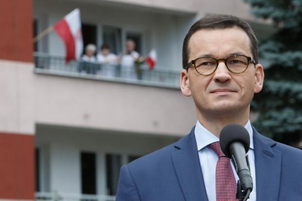 Mateusz Morawiecki: Nord Stream 2 będzie ciężko zablokować bez innych