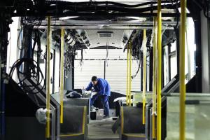 Zapraszamy na wirtualną wycieczką po zakładach Solarisa w Bolechowie, gdzie montowane są autobusy miejskie. fot. Andrzej Wawok