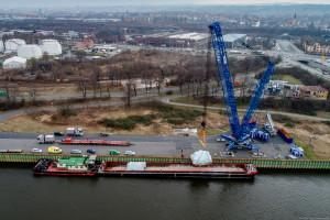 Polska firma umacnia się na niemieckich rzekach