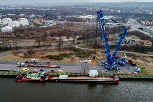 OT Logistics umacnia się w żegludze po Łabie