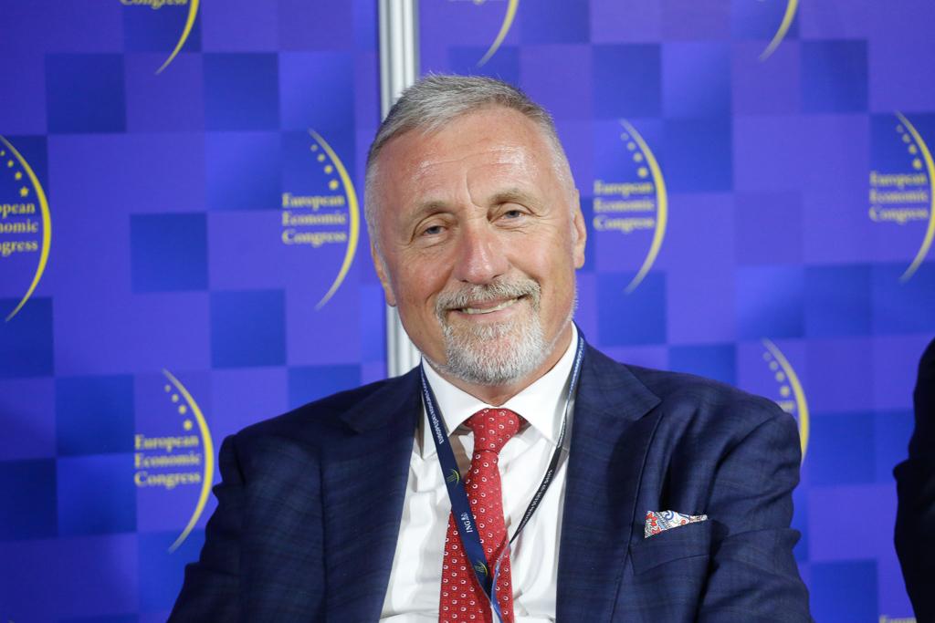 Mirek Topolánek, członek zarządu, Eustream, a.s., premier Republiki Czeskiej w latach 2006-2009. Fot PTWP.