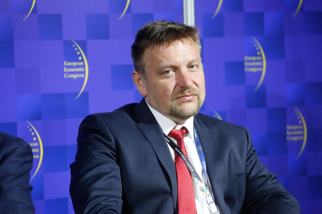 Grzegorz Żarski, dyrektor rozwoju rynku i analiz z Towarowej Giełdy Energii. Fot. PTWP.