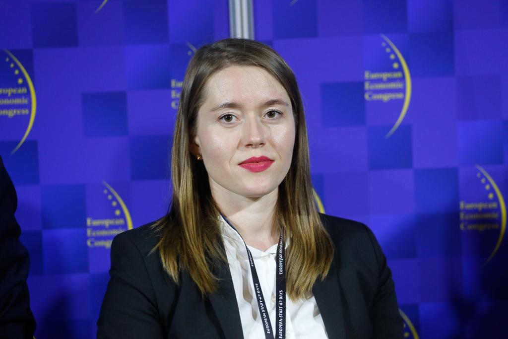 Joanna Rycerz, członek komitetu zarządzającego, Młodzi Liderzy w Energetyce. Fot. PTWP.