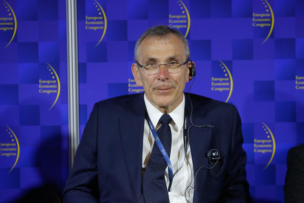 Andris Piebalgs, komisarz ds. energii w latach 2004-2010, komisarz ds. rozwoju w latach 2010-2014 w Komisji Europejskiej. Fot. PTWP.