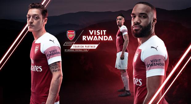 """Visit Rwanda"" za 30 mln funtów... na koszulkach Arsenalu"