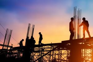 Produkcja przemysłowa poszła w górę, zwłaszcza w budownictwie