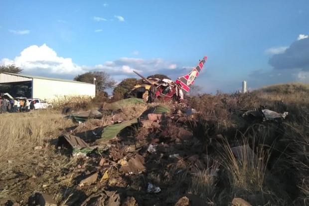 Katastrofa samolotu czarterowego w RPA