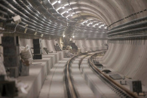Prace na budowie II linii metra idą pełną parą