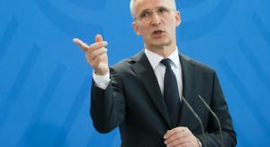 Szef NATO che pchnąć Sojusz w przestrzeń kosmiczną