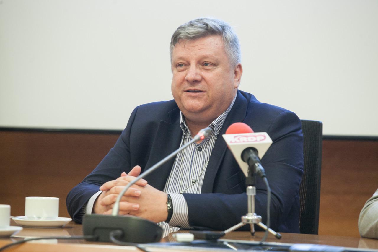 - Orlen stał się piątą grupą energetyczną w Polsce. Mamy aktywa energetyczne w 9 lokalizacjach, w trzech krajach – mówił Jarosław Dybowski, dyrektor wykonawczy ds. energetyki w PKN Orlen. (Fot. PTWP)