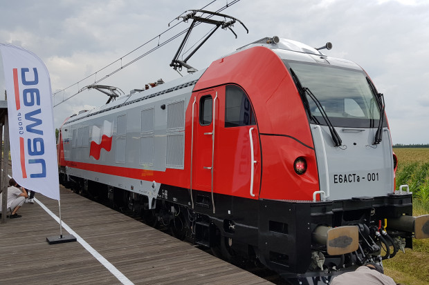 Newag pokazał nową lokomotywę elektryczną