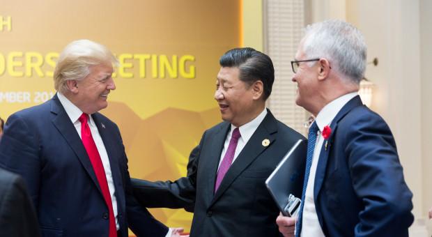 Donald Trump: prowadzimy okropną bitwę handlową z Chinami