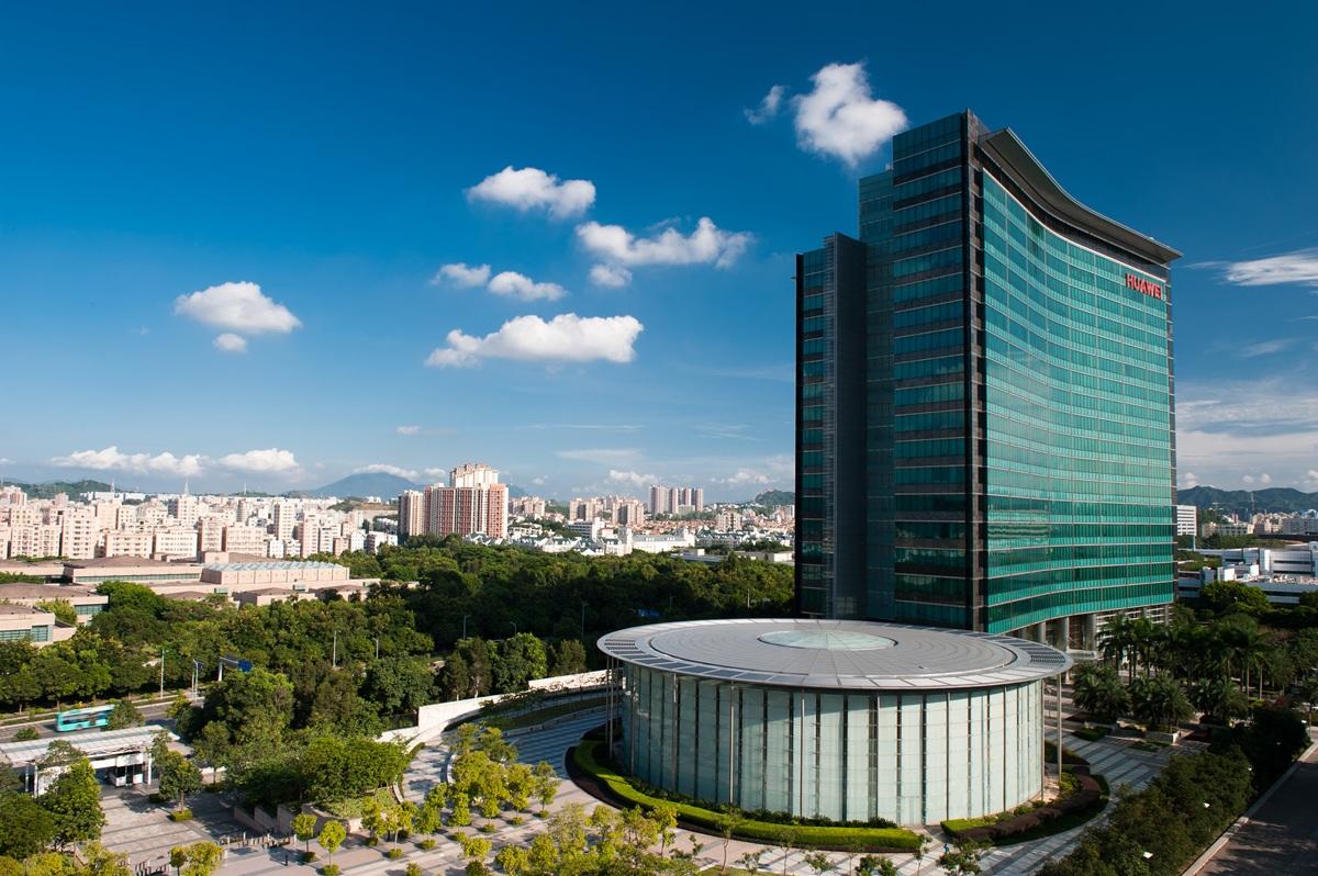 Centrum badań i rozwoju Huawei w kampusie w Shenzen. Fot. mat. pras.