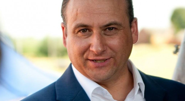Rafał Ryszczuk, burmistrz Kisielic.