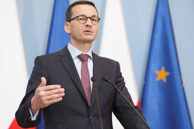 Mateusz Morawiecki: blisko miliard złotych na przekop Mierzei Wiślanej